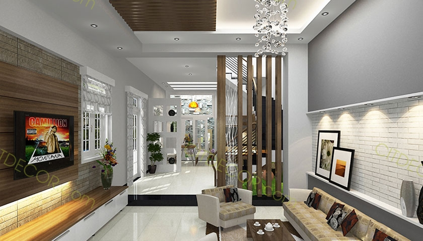 Thiết kế nội thất nhà ống, nhà phố đẹp - thiết kế nội thất Biên Hòa