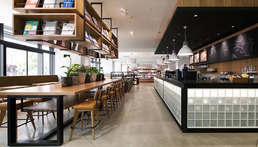 Mẫu thiết kế quán cà phê kiểu Nhật Bản vô cùng ấn tượng