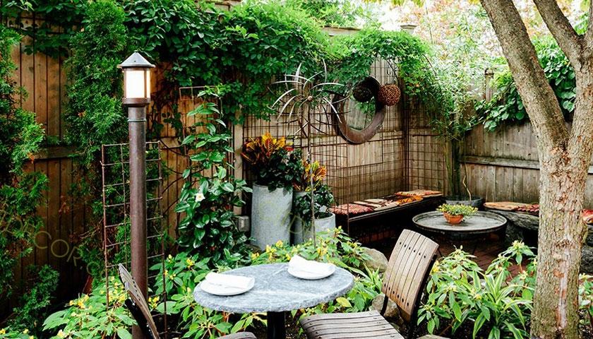 Mẫu thiết kế quán cà phê sân vườn nhỏ độc đáo tại Biên Hòa