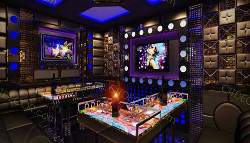 Thiết kế phòng karaoke đẹp hiện đại giá rẻ tại Biên Hòa, Đồng Nai