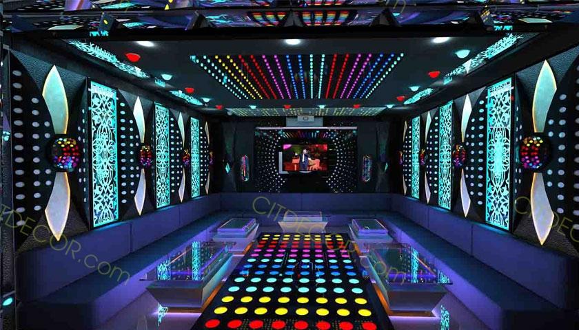 Tư vấn quy trình thiết kế thi công nội thất phòng karaoke