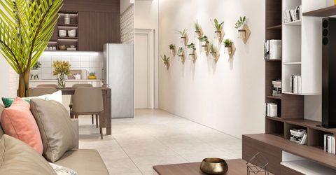 Bí quyết thiết kế nội thất các phòng trong căn hộ chung cư diện tích 40m2