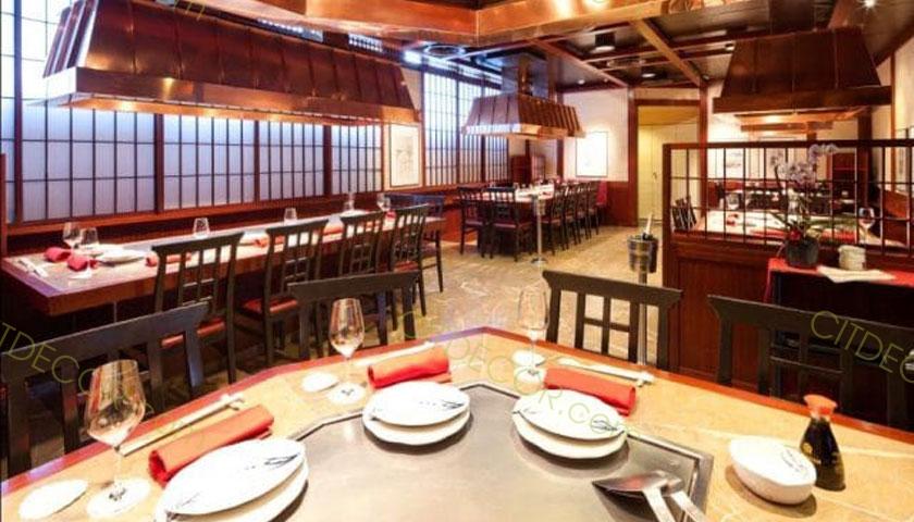 Đẹp lạ với mẫu thiết kế nhà hàng theo phong cách Nhật Bản
