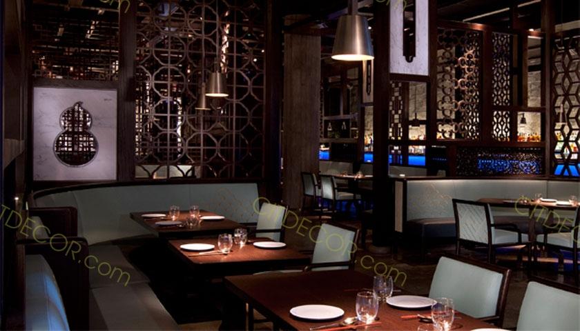 Mẫu thiết kế nhà hàng trung quốc - đúng tiêu chuẩn, hợp phong cách