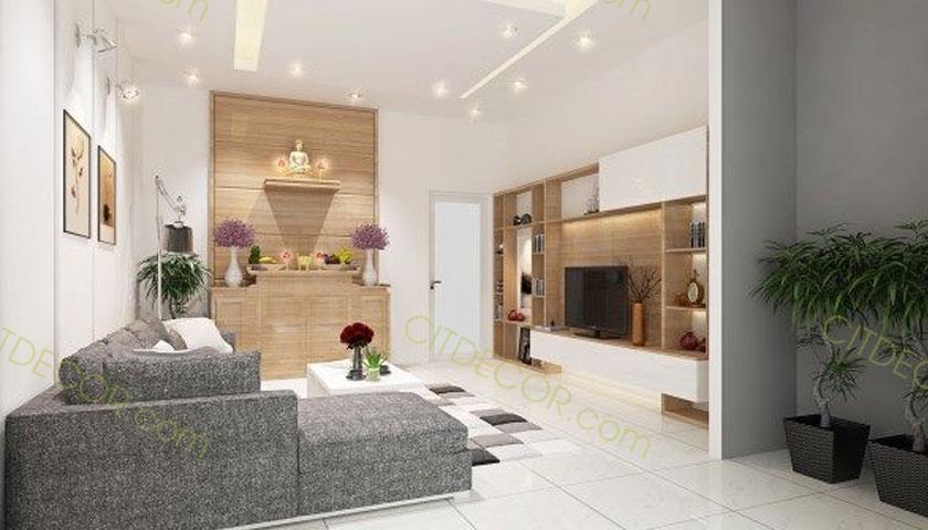 Thiết kế biệt thự mini ấn tượng với không gian vô cùng tiện nghi