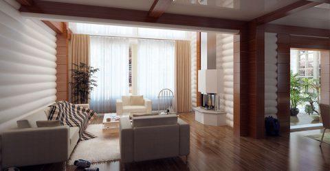 Thiết kế biệt thự đẹp với thiết kế trang nhã, nhẹ nhàng và yên tĩnh