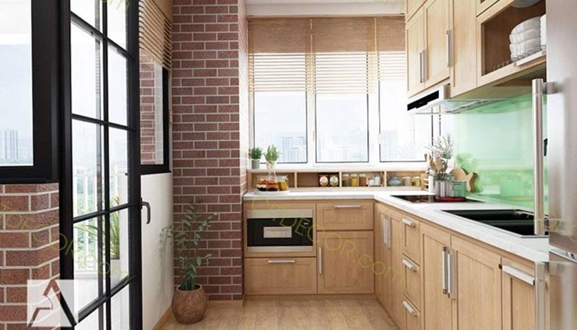 Những lời khuyên hữu ích giúp bạn thiết kế gian bếp đẹp cho căn hộ chung cư
