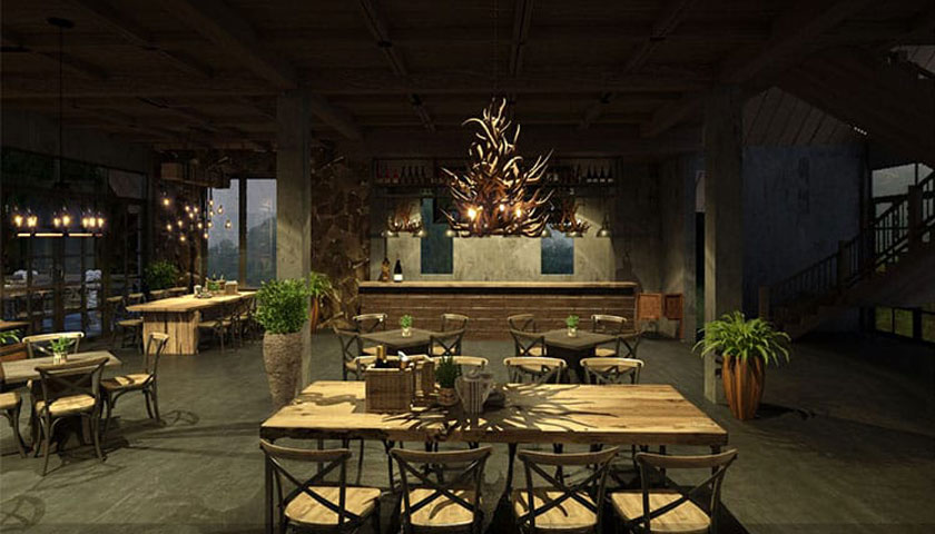 thiết kế quán cafe theo phong cách cổ điển
