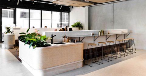 Thiết kế nội thất quán cafe trẻ trung hiện đại