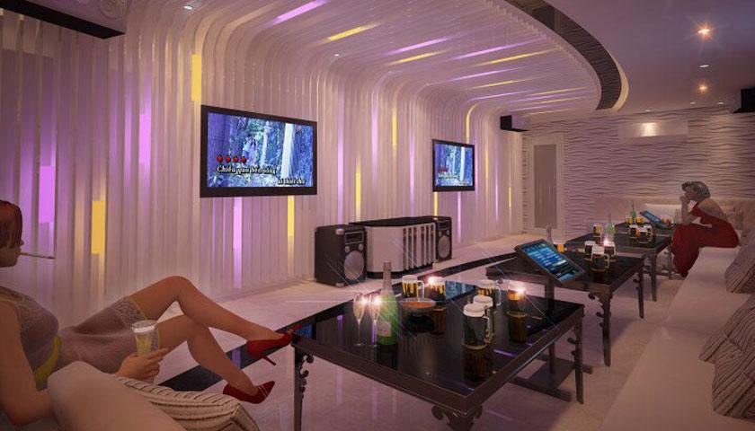 Mẫu thiết kế phòng karaoke tại Biên Hòa, Đồng Nai đẹp và ấn tượng