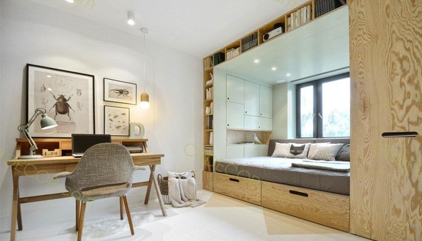 Những cách để tối ưu hóa không gian cho căn hộ chung cư 60m2