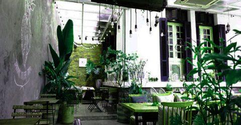 Gợi ý cho bạn 3 mẫu thiết kế quán cà phê sân vườn nhỏ trong lòng thành phố