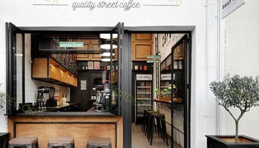 Một số bí kíp để có thể thiết kế quán cafe có diện tích nhỏ đẹp