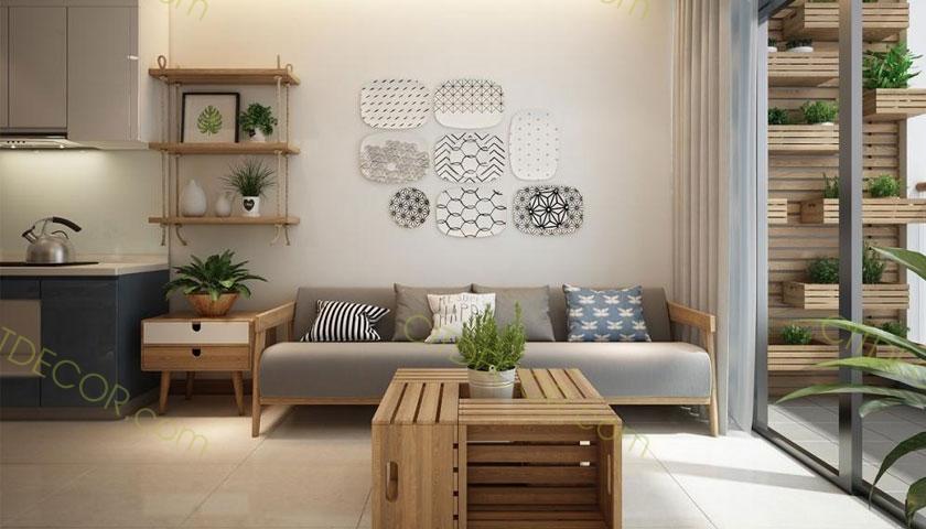 Thiết kế căn hộ chung cư đơn giản, tinh tế với phong cách Scandinavian