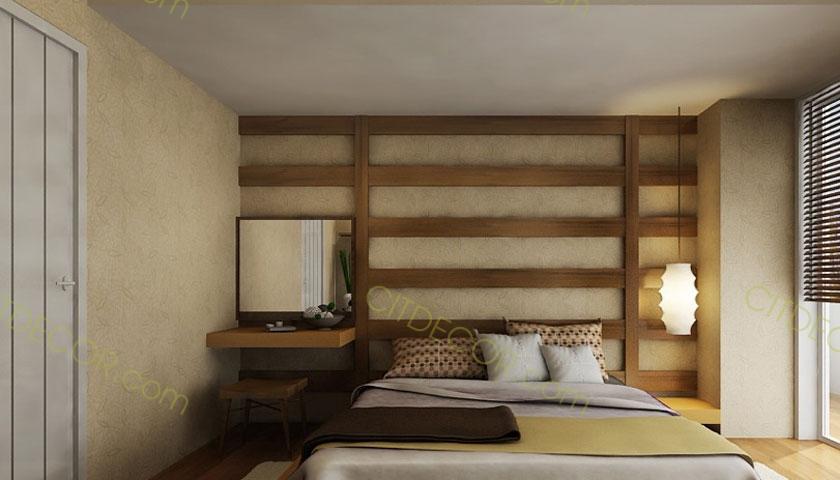 Mẫu thiết kế nội thất nhà phố bằng chất liệu gỗ tự nhiên đẹp