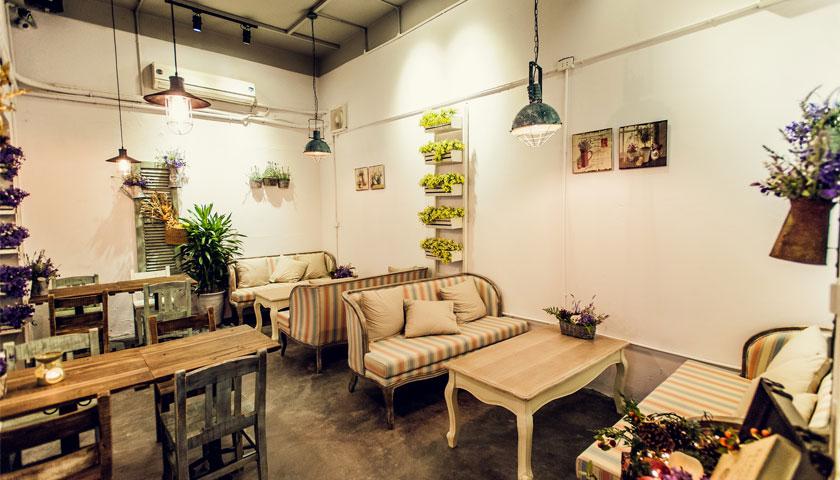 Thiết kế quán cafe mang phong cách Châu Âu sang trọng và hiện đại