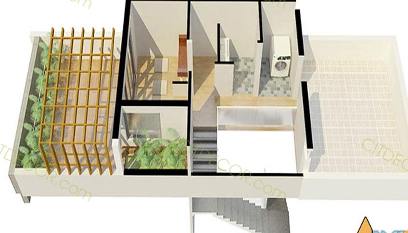 Mẫu thiết kế nhà lô theo phong cách tân cổ điển Biên Hòa