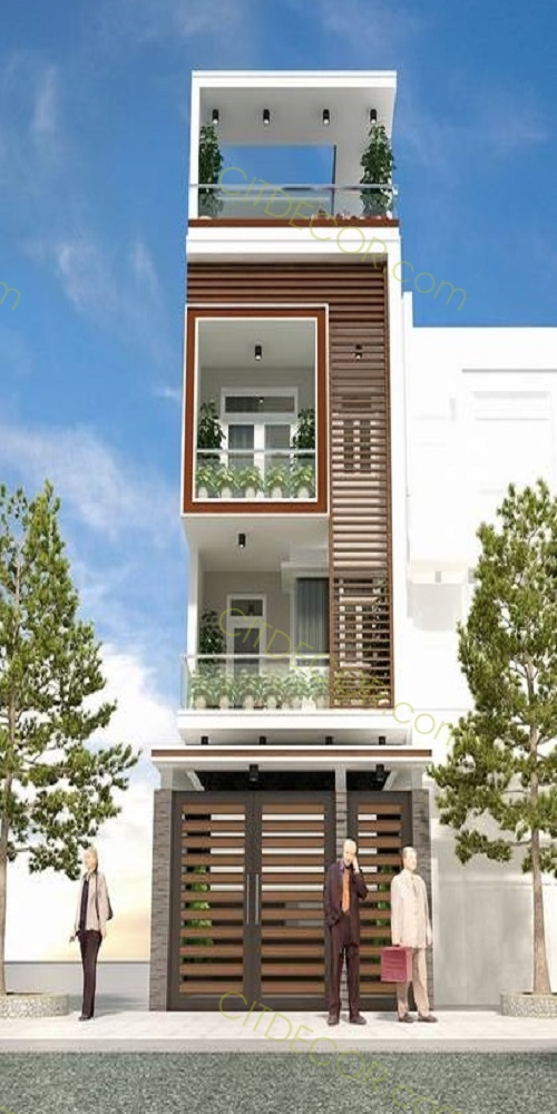10 mẫu thiết kế nhà phố bán cổ điển đón đầu xu hướng trong năm 2019