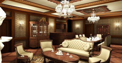 Những nét đặc trưng của thiết kế nội thất biệt thự cổ điển