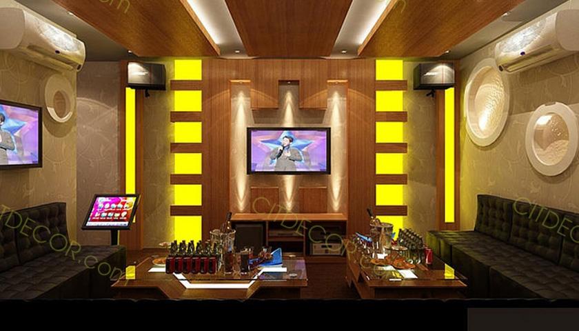 8 Điểm mà bạn cần chú ý khi thiết kế một phòng hát karaoke