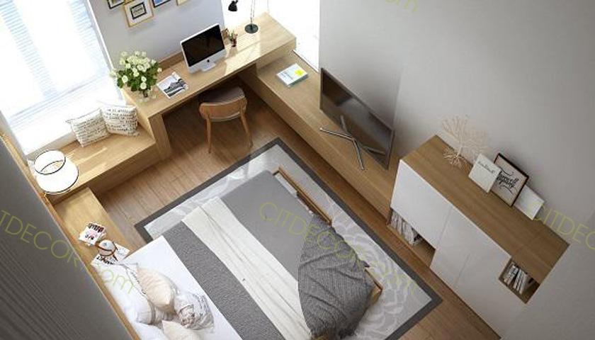 Thiết kế nội thất căn hộ chung cư nhỏ bạn cần chú ý những gì ?