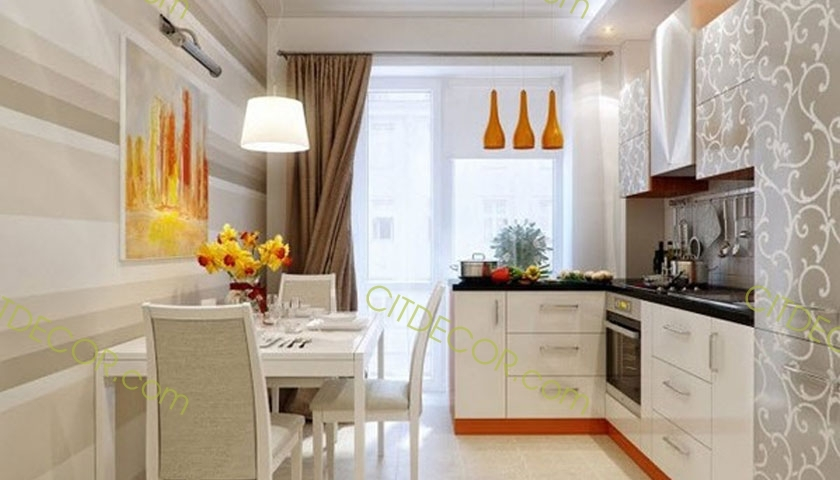 Thiết kế căn hộ chung cư 1 phòng ngủ dành cho người độc thân