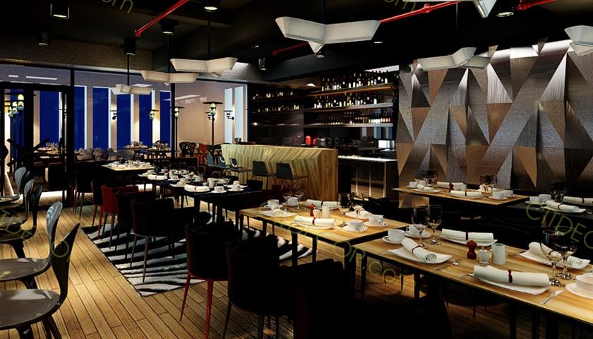 Cùng ngắm nhìn nhà hàng theo phong cách Tây hiện đại, bắt mắt