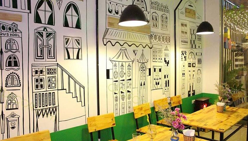 Mẹo trang trí quán cafe có diện tích hạn chế và nhỏ hẹp