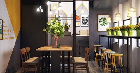 Gợi ý để thiết kế nội thất quán trà sữa đẹp, độc đáo và ấn tượng