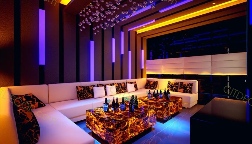 Giải pháp để thiết kế phòng karaoke đẹp và ấn tượng