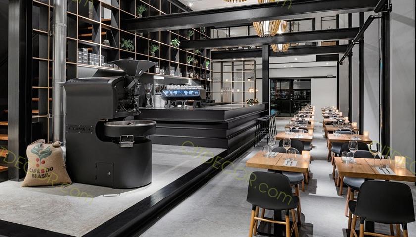 Nguyên tắc phong thủy trong thiết kế quán cafe để tiền vô như nước