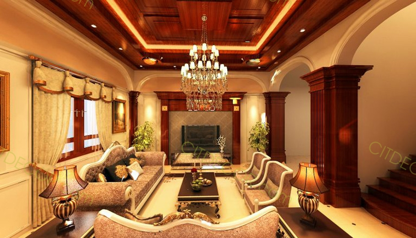Mẹo để thiết kế nội thất phòng khách biệt thự SANG CHẢNH