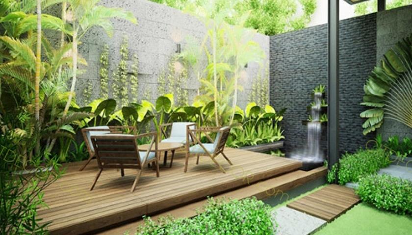 Top 5 thiết kế quán cafe đẹp theo phong cách sân vườn hoàn hảo