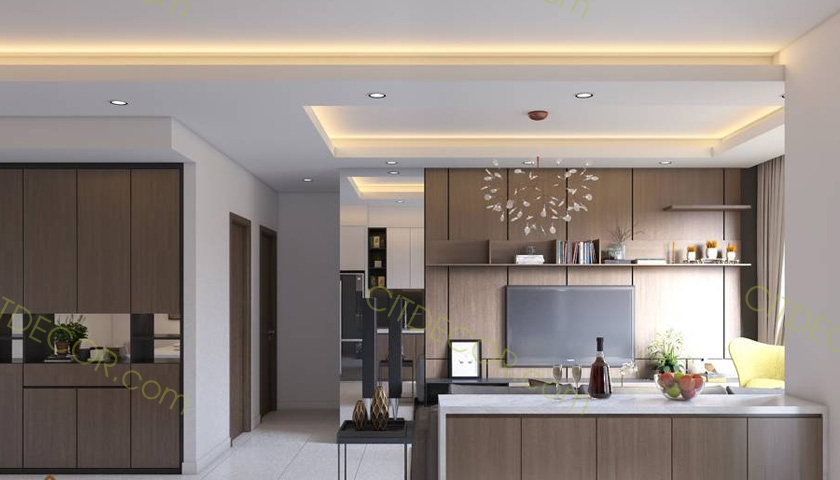 Những lưu ý bạn cần biết khi thiết kế nội thất căn hộ chung cư