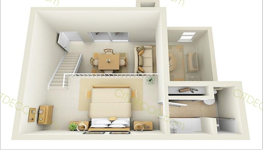 Gợi ý cho bạn mẫu thiết kế nội thất đẹp cho nhà phố nhỏ