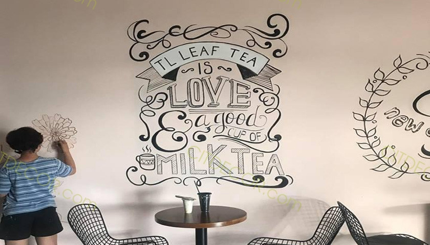 Những cách mà bạn có thể học hỏi để trang trí quán trà sữa