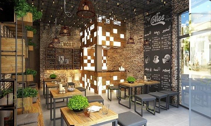 Dịch vụ thiết kế quán cafe tại Biên Hòa - Đồng Nai