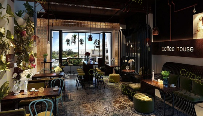 Top 10 ý tưởng thiết kế quán cafe tuyệt đẹp có chi phí thấp