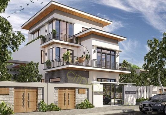 thiết kế biệt thự đẹp tại Biên Hòa