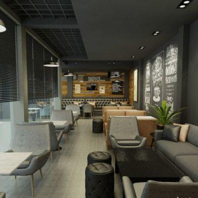 Xu hướng theo phong cách thiết kế quán cafe hiện đại