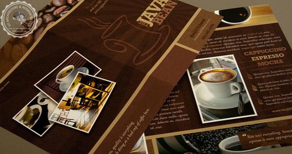 menu quán cafe