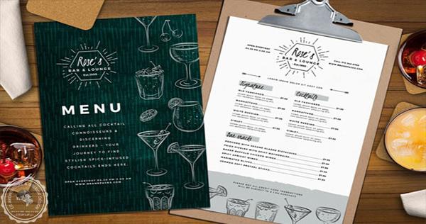 menu cafe độc lạ