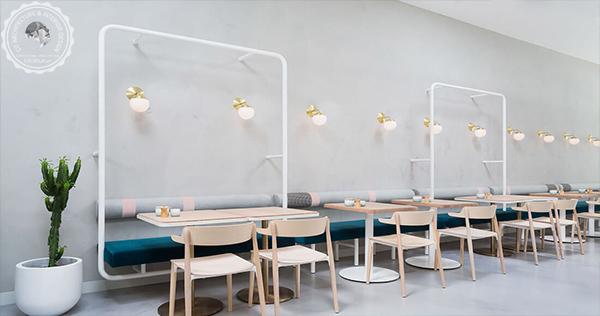 Thiết quán cafe Scandanavian