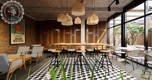 quán cafe modern style