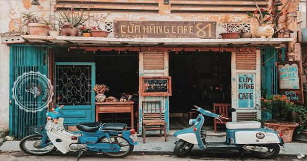 Thiết kế quán cafe Vintage