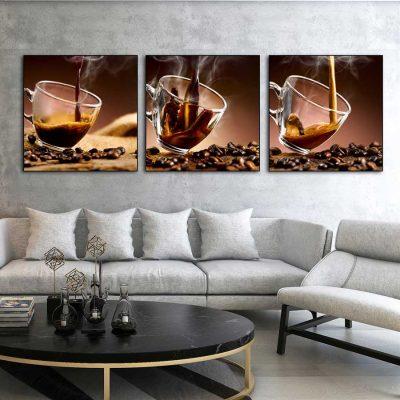 Tổng hợp 1001+ Mẫu tranh trang trí quán cafe đẹp và ý nghĩa